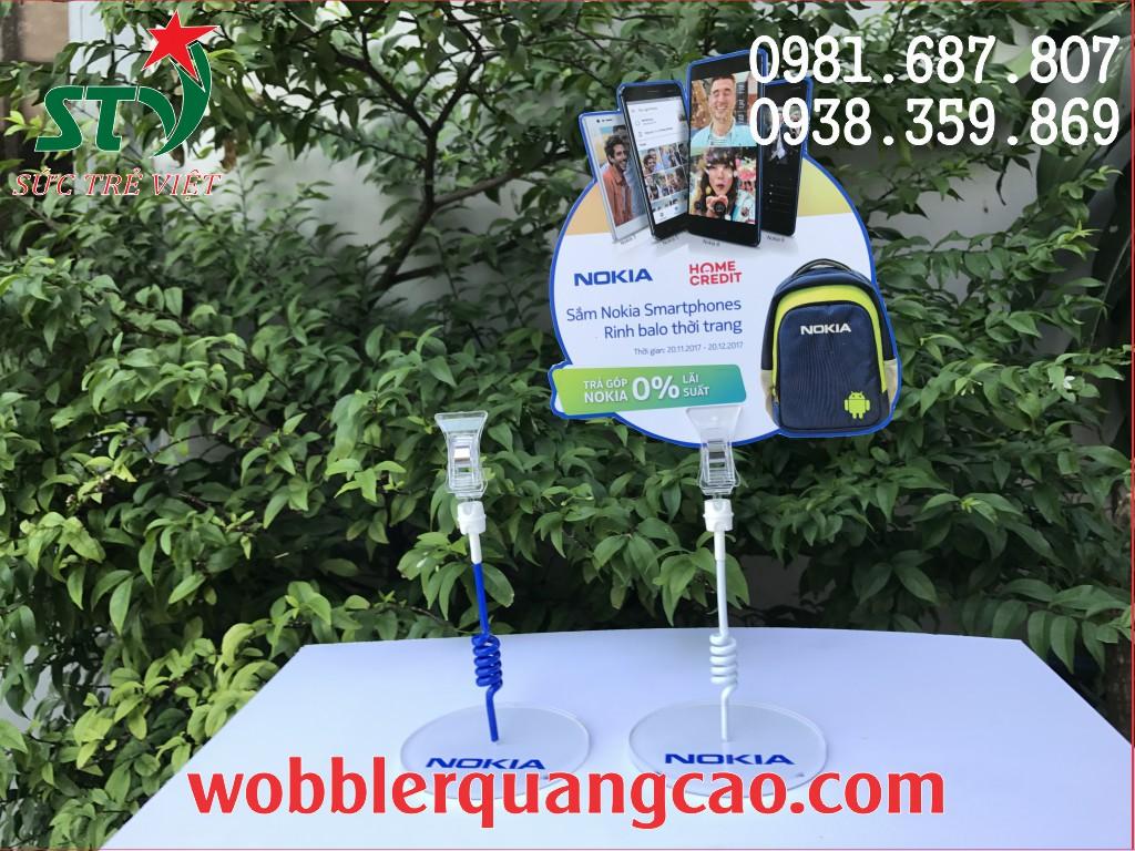 wobbler để bàn tại Hà Nội